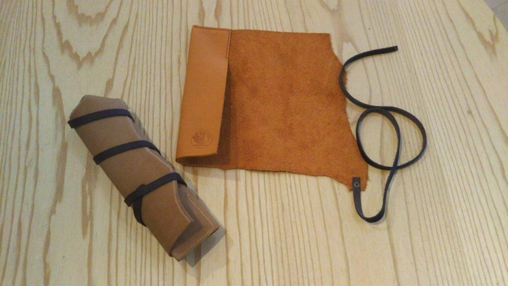 ナイフ・刃物ケースの革製作実例